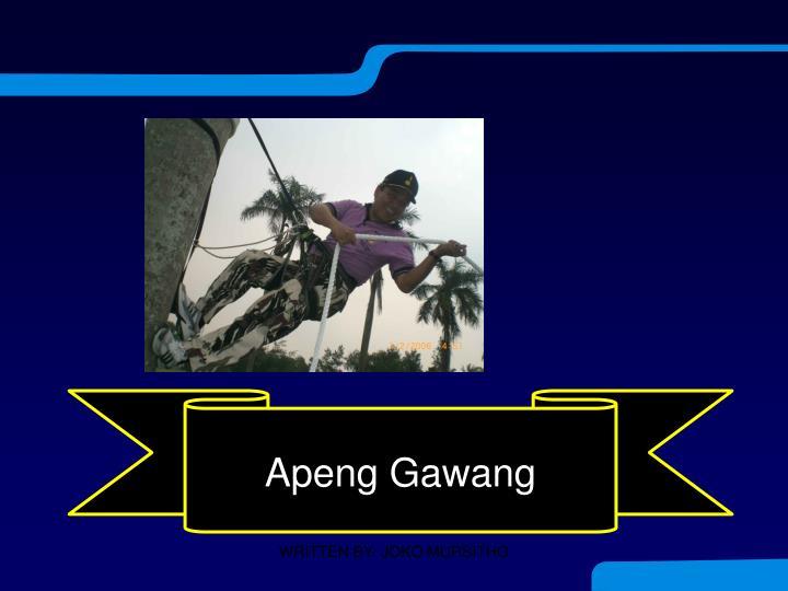 Apeng Gawang