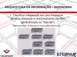 arquitetura da informa o taxonomia