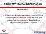 arquitetura da informa o2