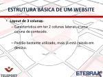 estrutura b sica de um website7