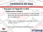 tipografia na web2