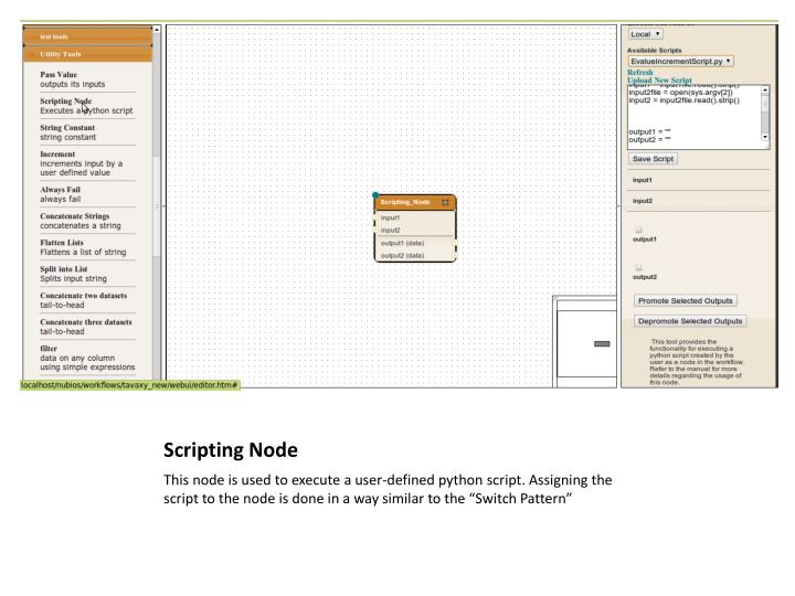 Scripting Node