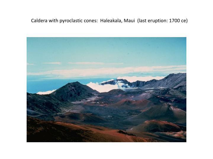 Caldera with