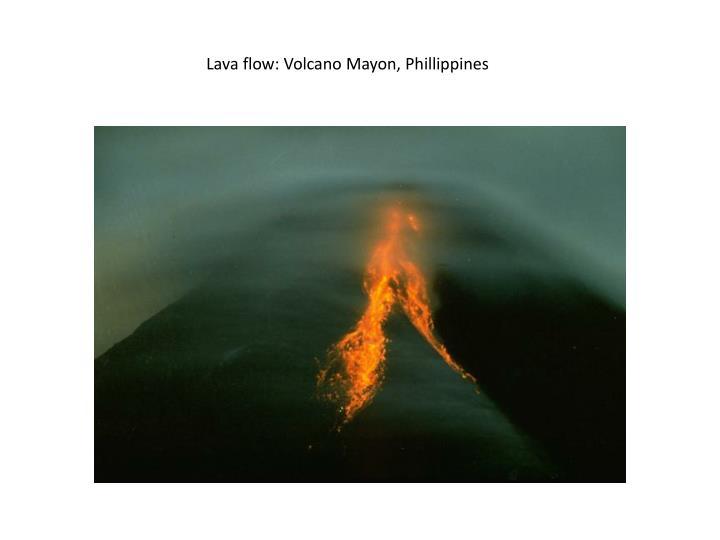 Lava flow: Volcano