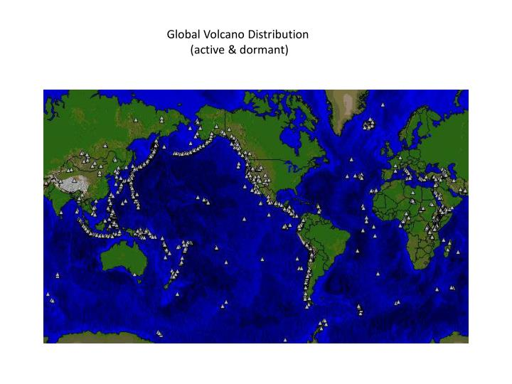 Global Volcano Distribution