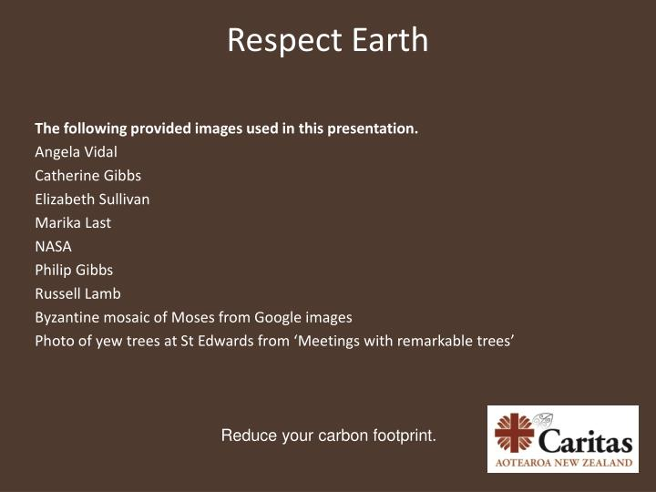 Respect Earth
