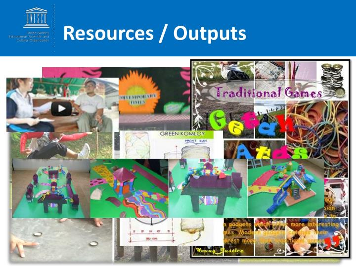 Resources / Outputs