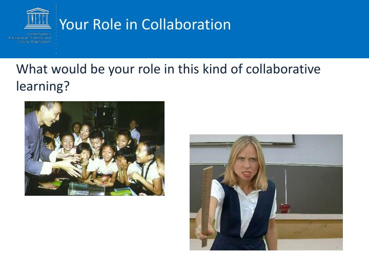 Your Role in Collaboration