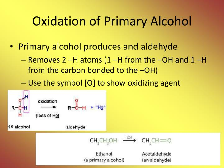 Oxidation of Primary Alcohol