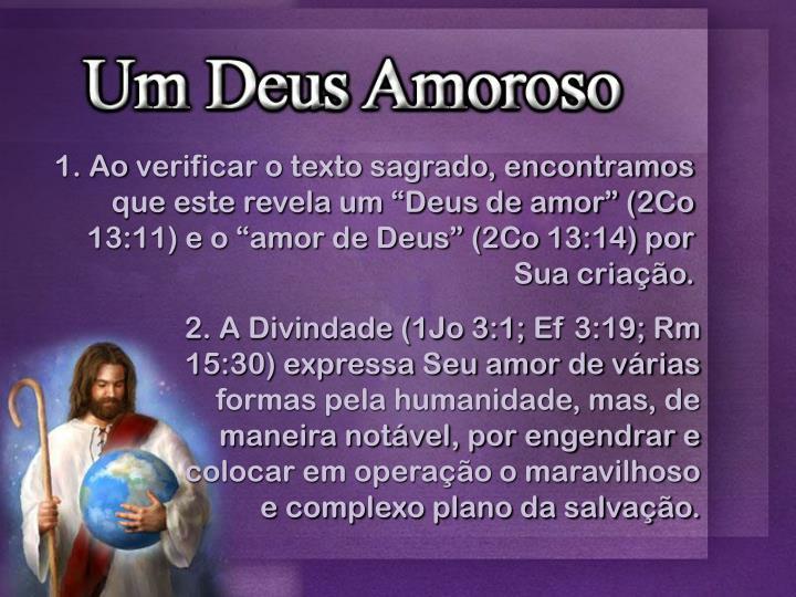 2. A Divindade (1Jo 3:1;