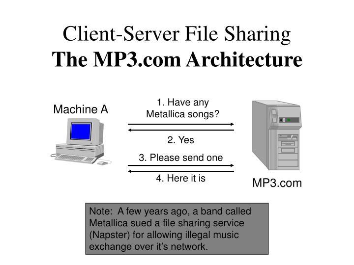 Client-Server File Sharing