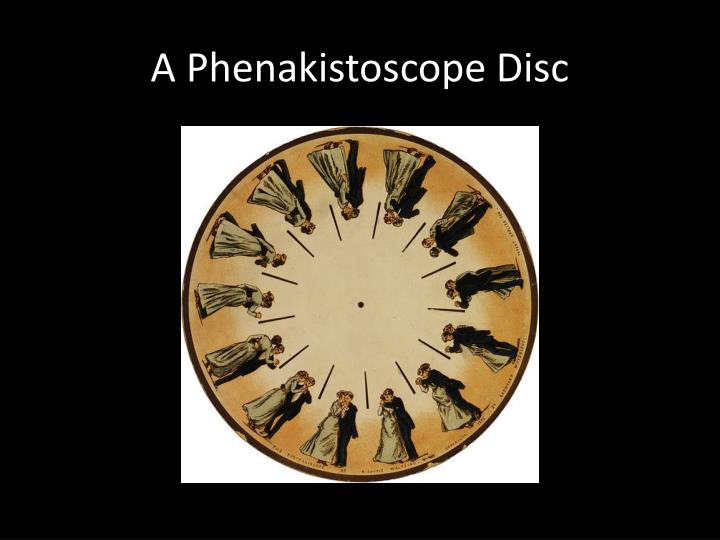 A Phenakistoscope Disc
