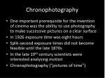 chronophotography