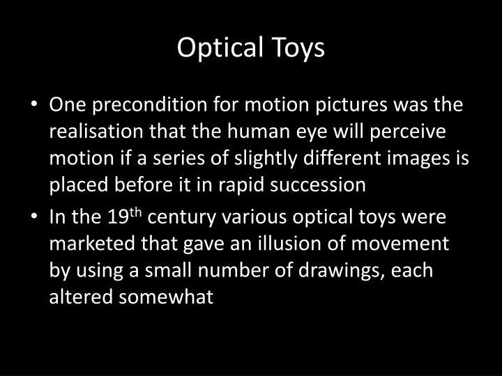 Optical Toys