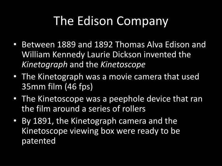 The Edison Company