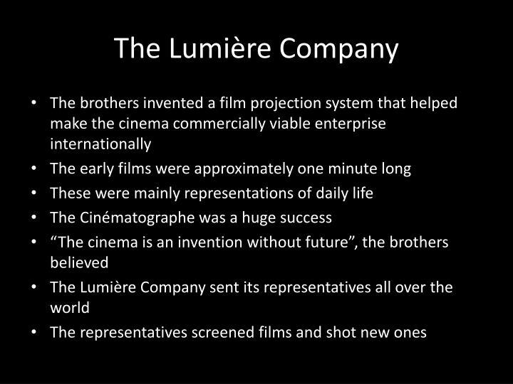 The Lumière Company