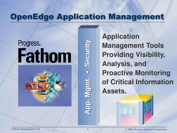 OpenEdge Application Management