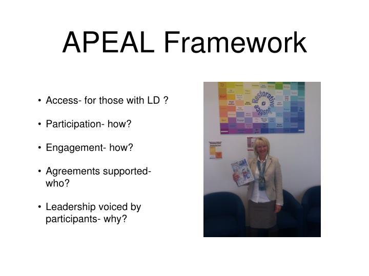 APEAL Framework