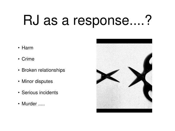 RJ as a response....?