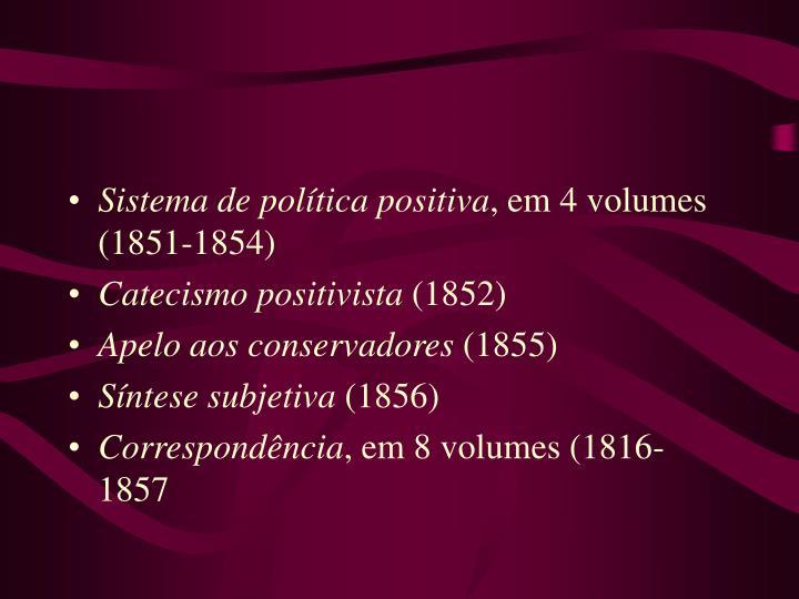 Sistema de política positiva