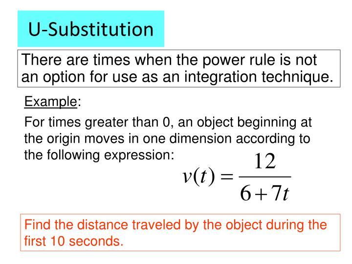U-Substitution