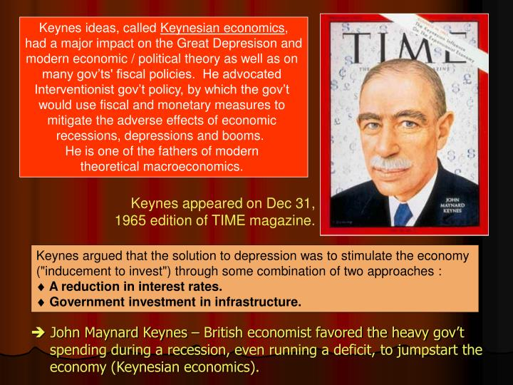 Keynes ideas, called