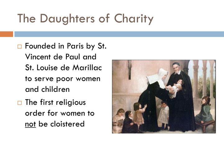 The Daughters of Charity