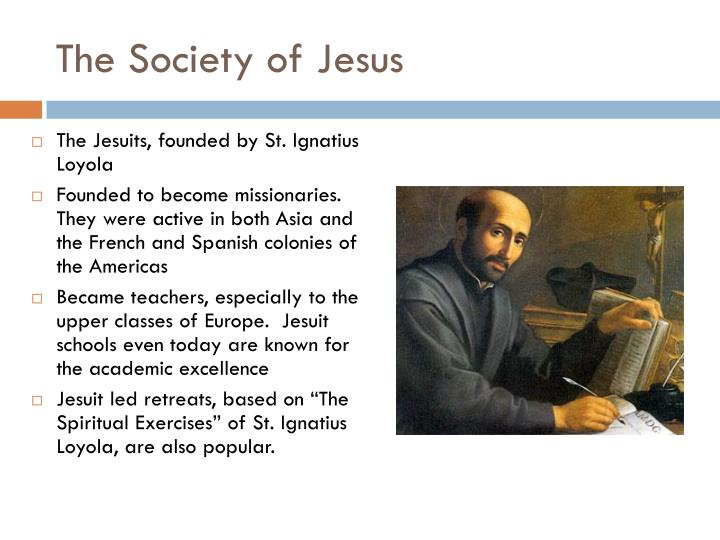 The Society of Jesus