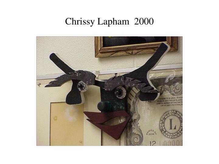Chrissy Lapham  2000