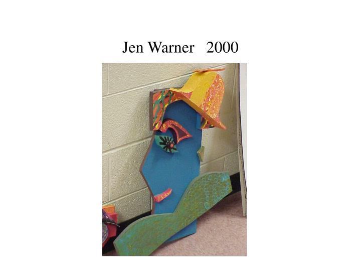 Jen Warner   2000