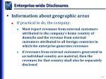enterprise wide disclosures2