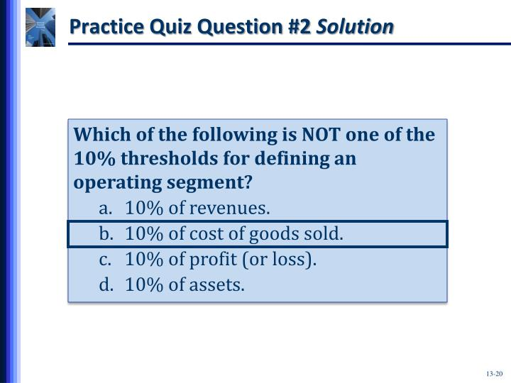 Practice Quiz Question #2