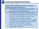 practice quiz question 3 solution