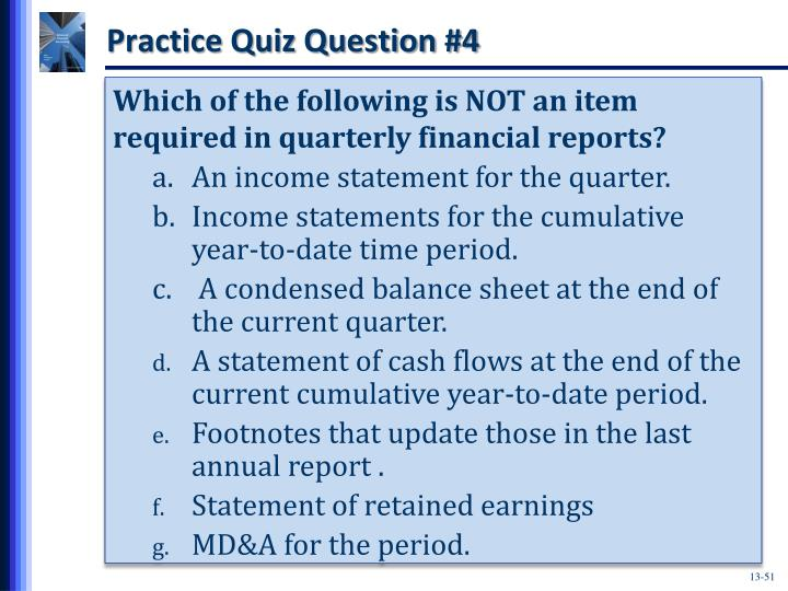 Practice Quiz Question #4