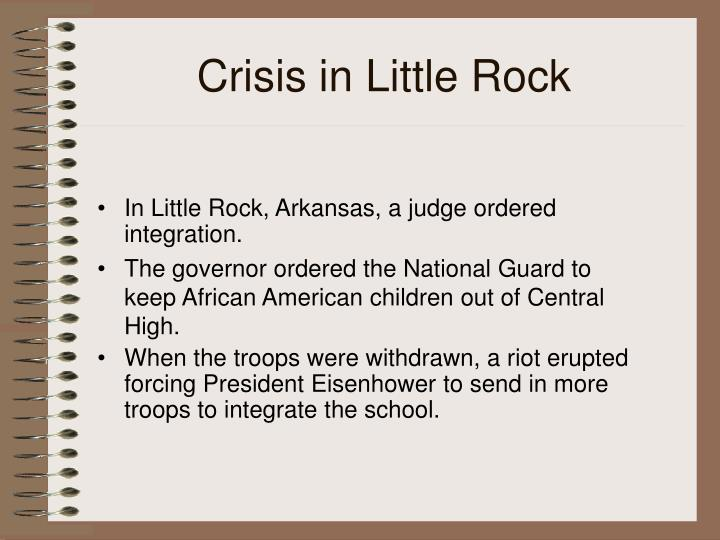 Crisis in Little Rock