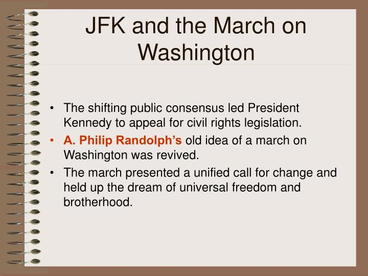 JFK and the March on Washington