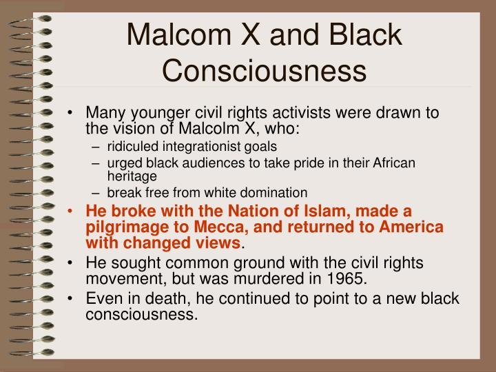 Malcom X and Black Consciousness