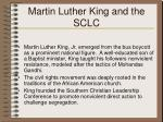 martin luther king and the sclc