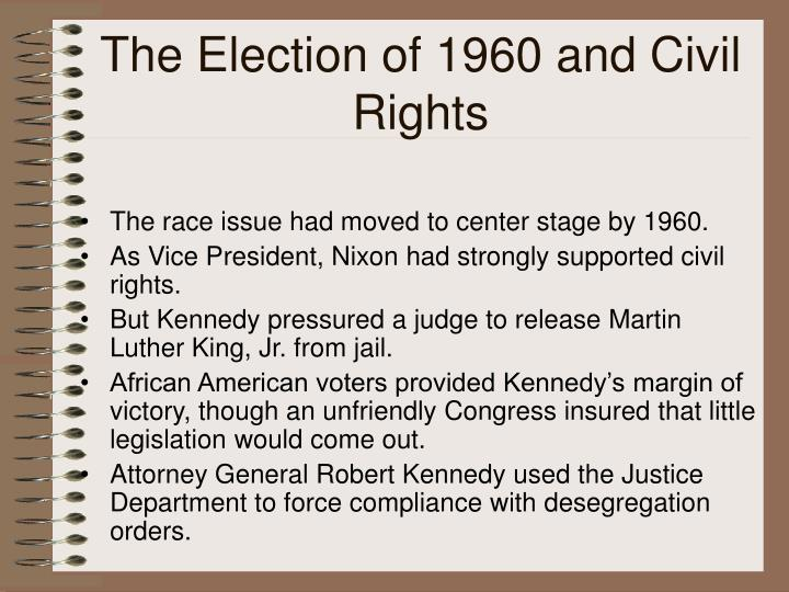 The Election of 1960 and Civil Rights
