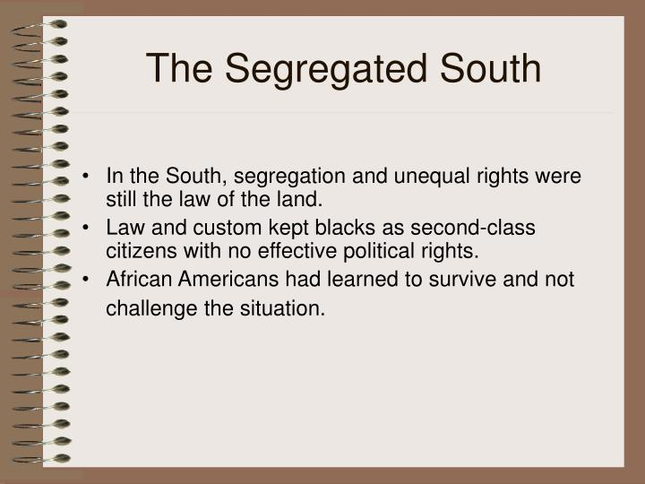 The Segregated South