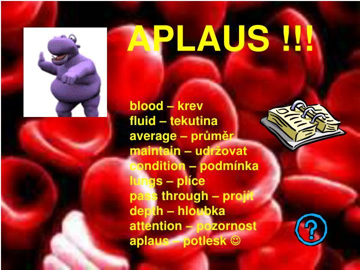 APLAUS !!!