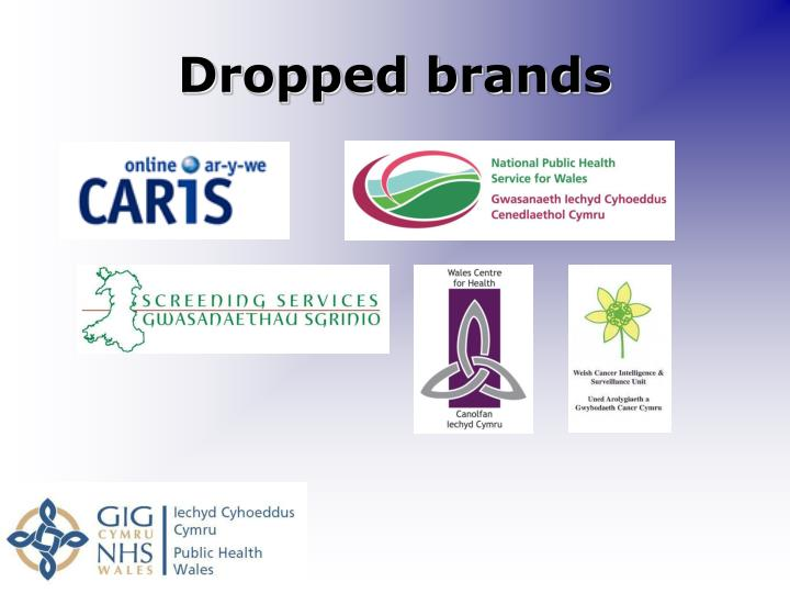 Dropped brands