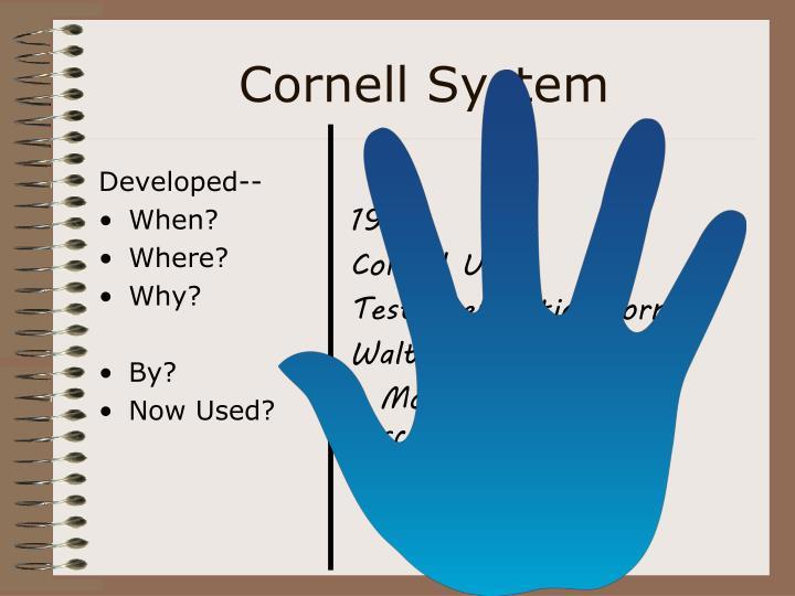 Cornell System