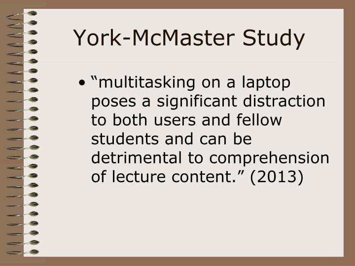 York-McMaster Study