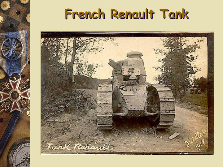 French Renault Tank