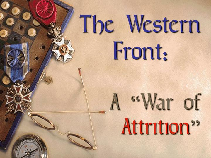 The Western Front: