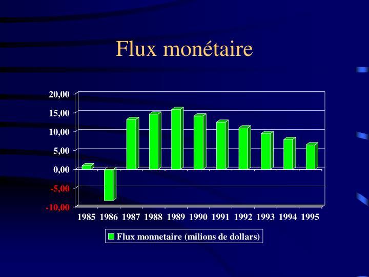Flux monétaire