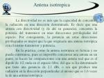antena isotropica1