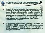 configuracion del software2