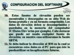 configuracion del software3